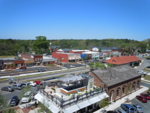 downtown woodstock, ga view